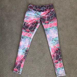 Pants - Mountain print Leggings yoga pants